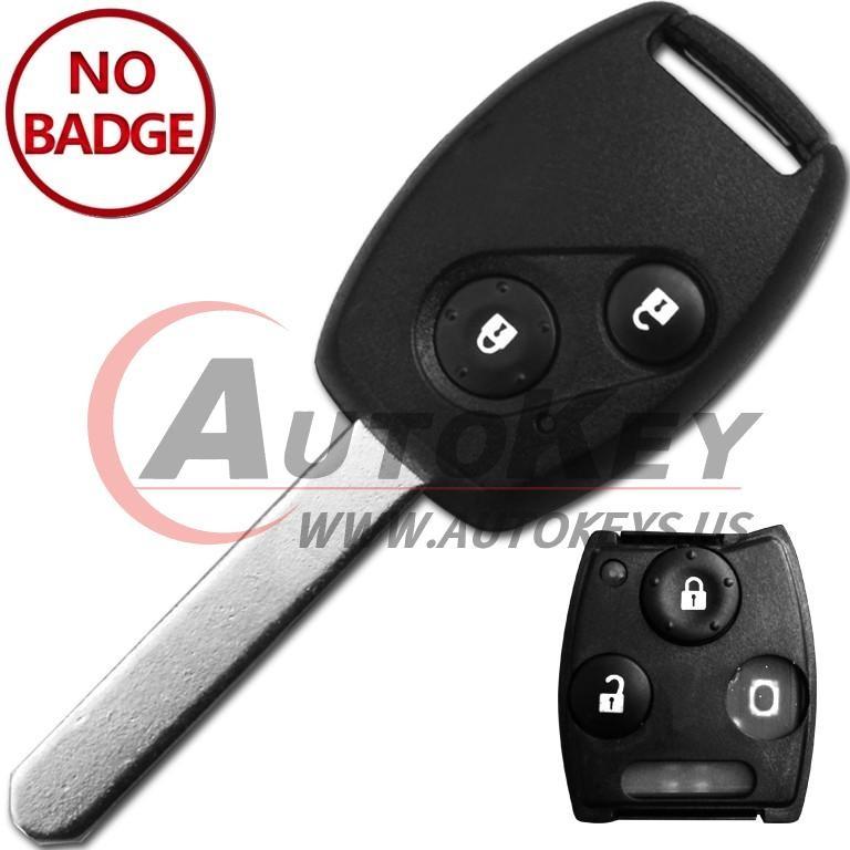 (433Mhz) 2btn Remote Key For Honda