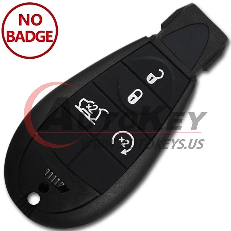 (433Mhz) GQ4-53T Smart Key For 2014-2019 Jeep Cherokee