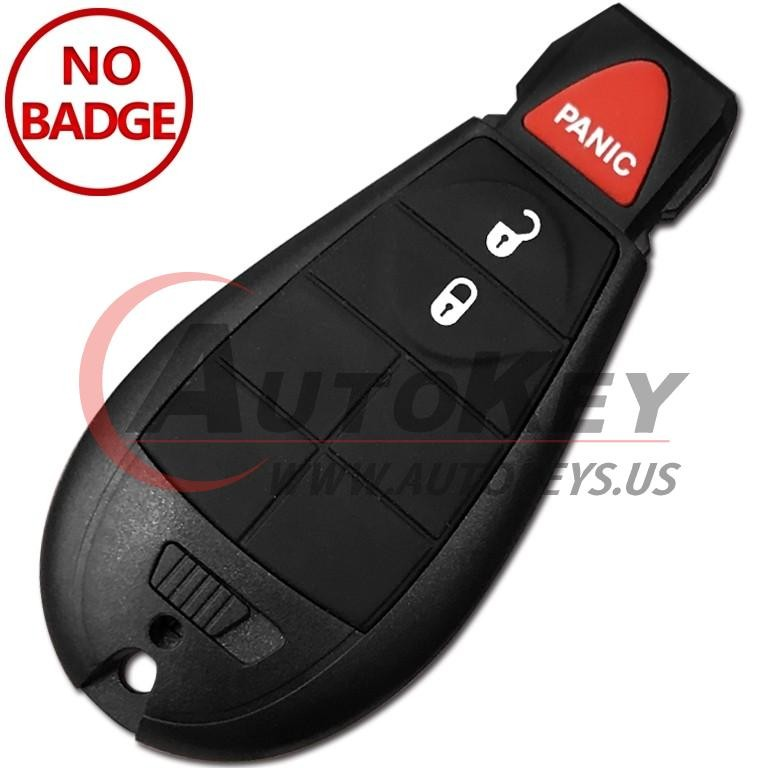 (433Mhz) GQ4-53T Fobik Remote For Jeep Cherokee