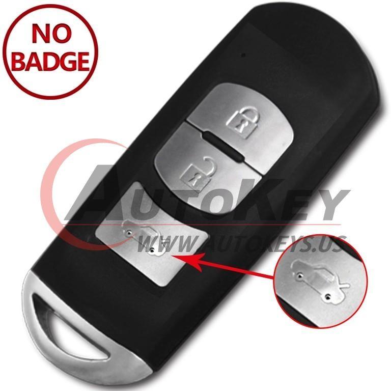 (433Mhz) SKE13E-02 Smart Key For Mazda 3 6
