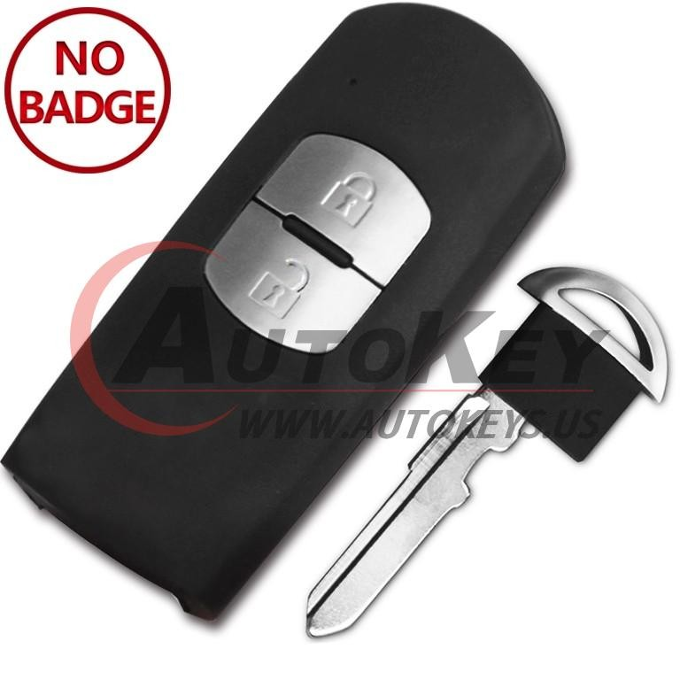 (433Mhz) SKE13E-01 Smart Key For Mazda 2 3 6 (Mitsubishi System)