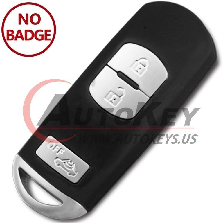 (433Mhz) SKE13E-02 Smart Key For Mazda CX-3  CX-5 CX-7  (Mitsubishi System)