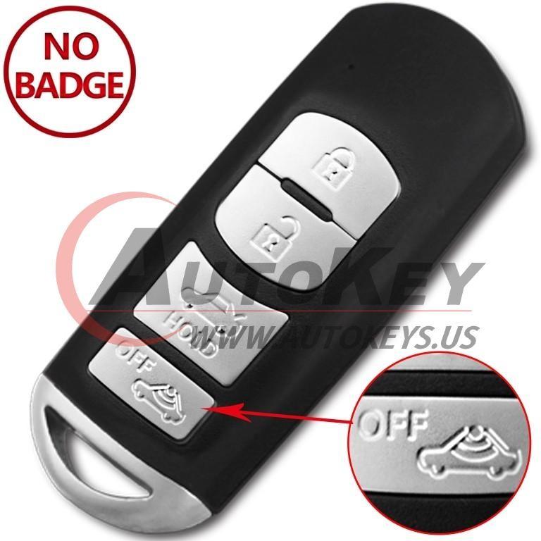 (433Mhz) SKE13E-02 Smart Key For Mazda 6 Saloon/Sedan Sport Models (Mitsubishi System)