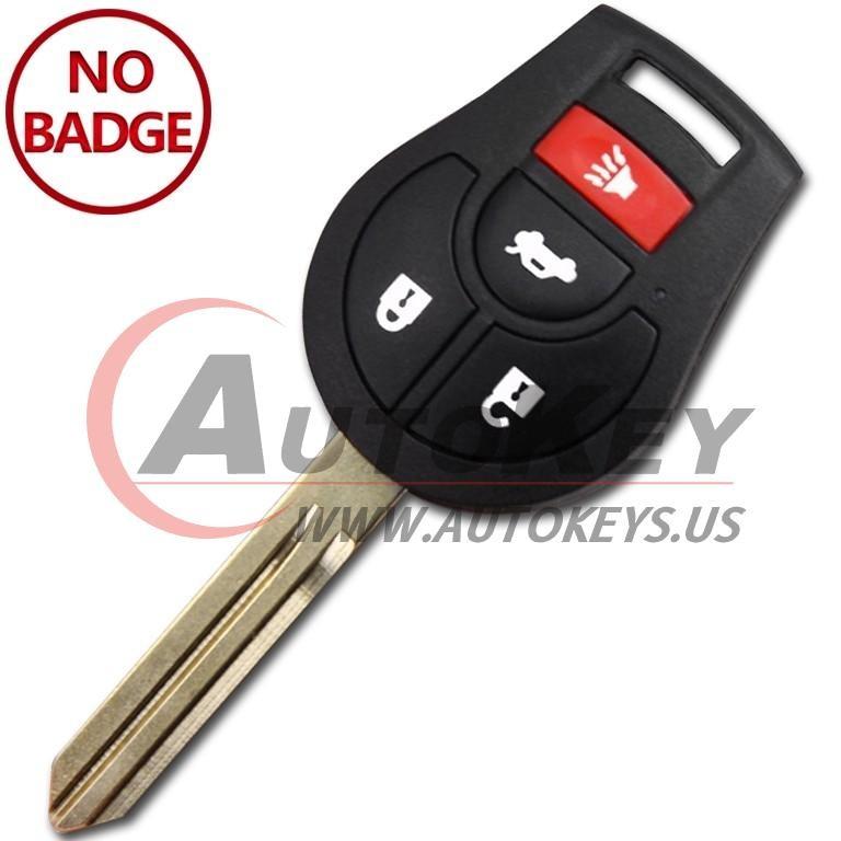 (315Mhz) CWTWB1U751 3+1btn Remote Key For Nissan
