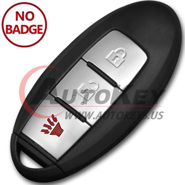 (433Mhz) CWTWB1U825 2+1btn Smart Key For Nissan