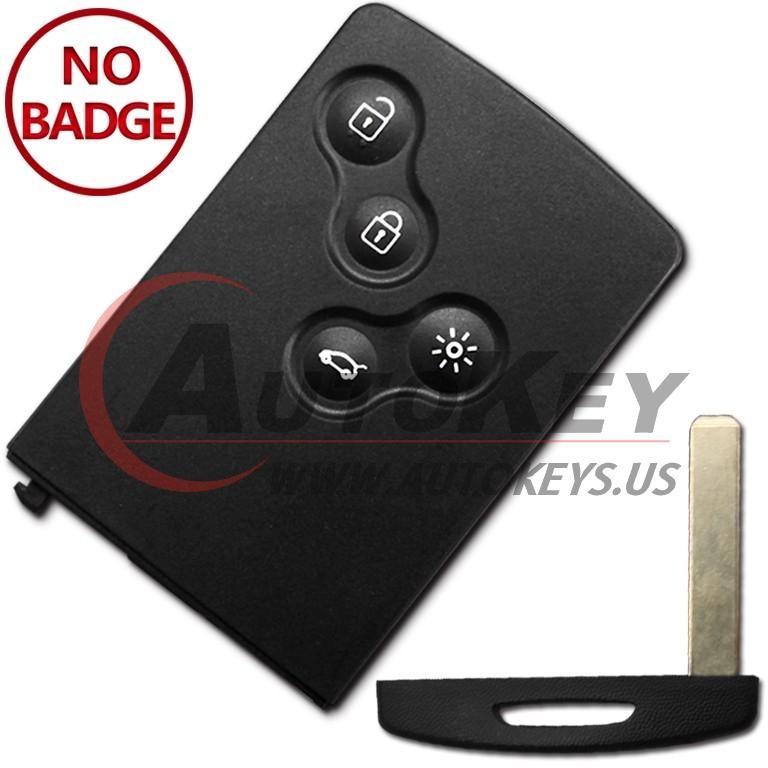 (433Mhz) Keyless Smart Key For Renault Clio Captur