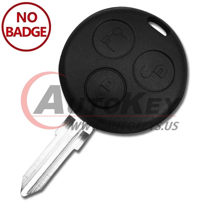 (433Mhz) Remote Key For Smart Fortwo Passion Roadster