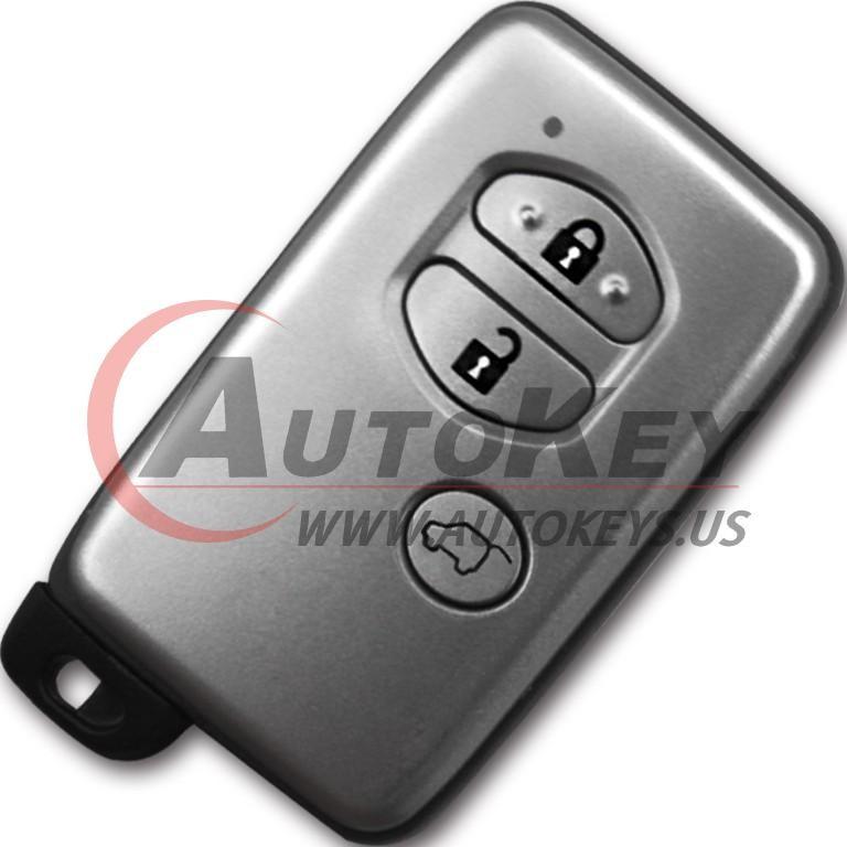 (433Mhz) 3btn Smart Key For Toyota (TOY48)
