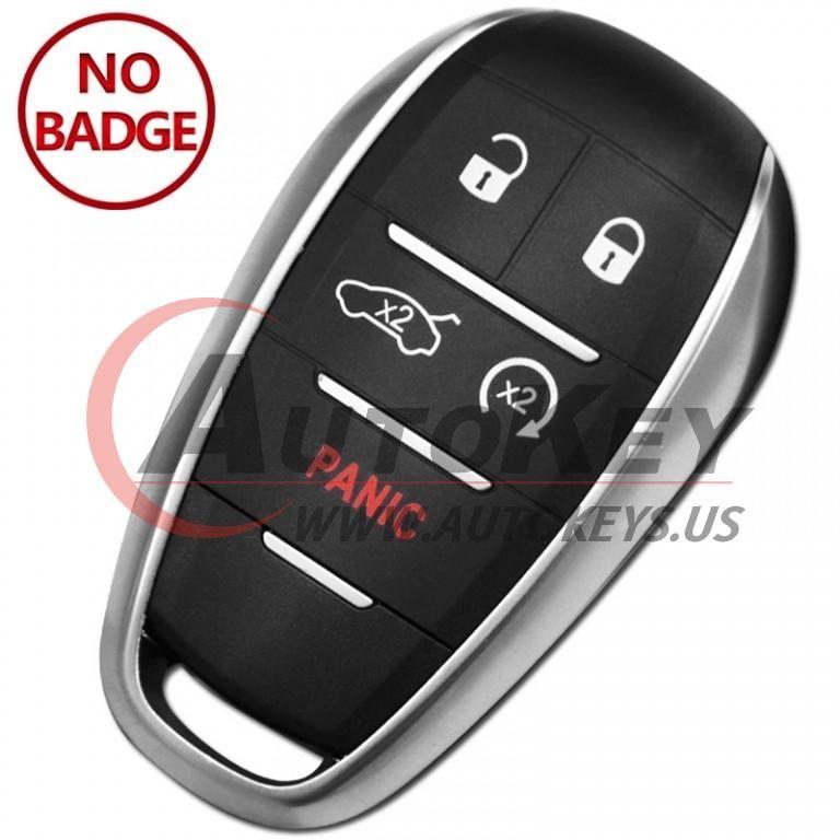 (433Mhz) KR5ALFA434 Keyless Smart Key For Alfa Romeo Giulia Stelvio