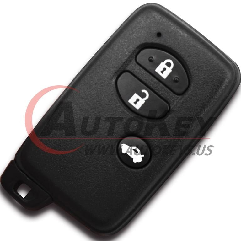 (F433-433Mhz) 3btn Smart Key For Toyota (TOY48)