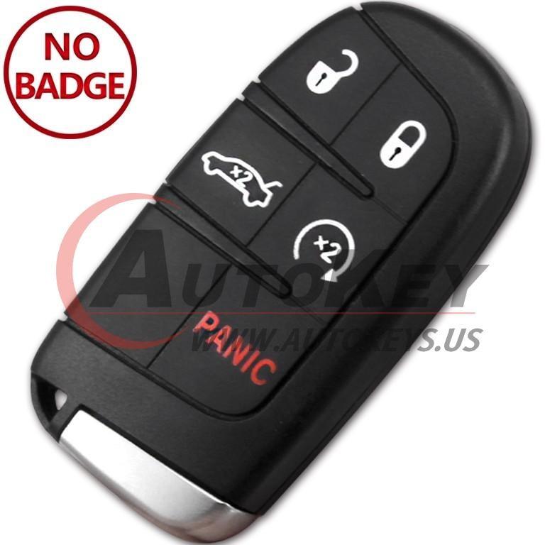 (433Mhz) M3N-40821302 Keyless Smart Key For Chrysler 300 / Dodge Charger Dart