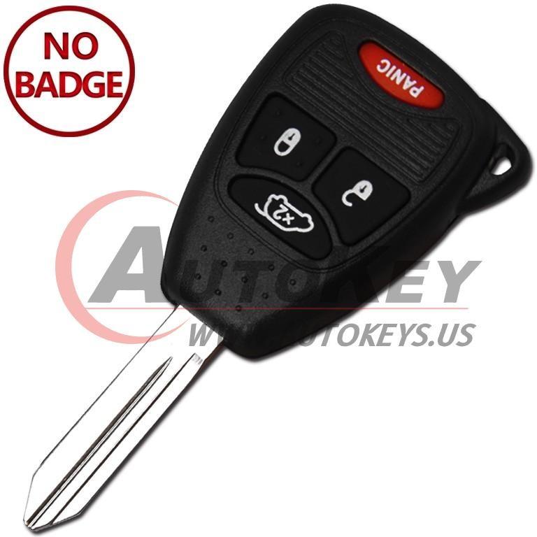 (315Mhz) OHT692427AA Remote Key For Chrysler / Jeep / Dodge