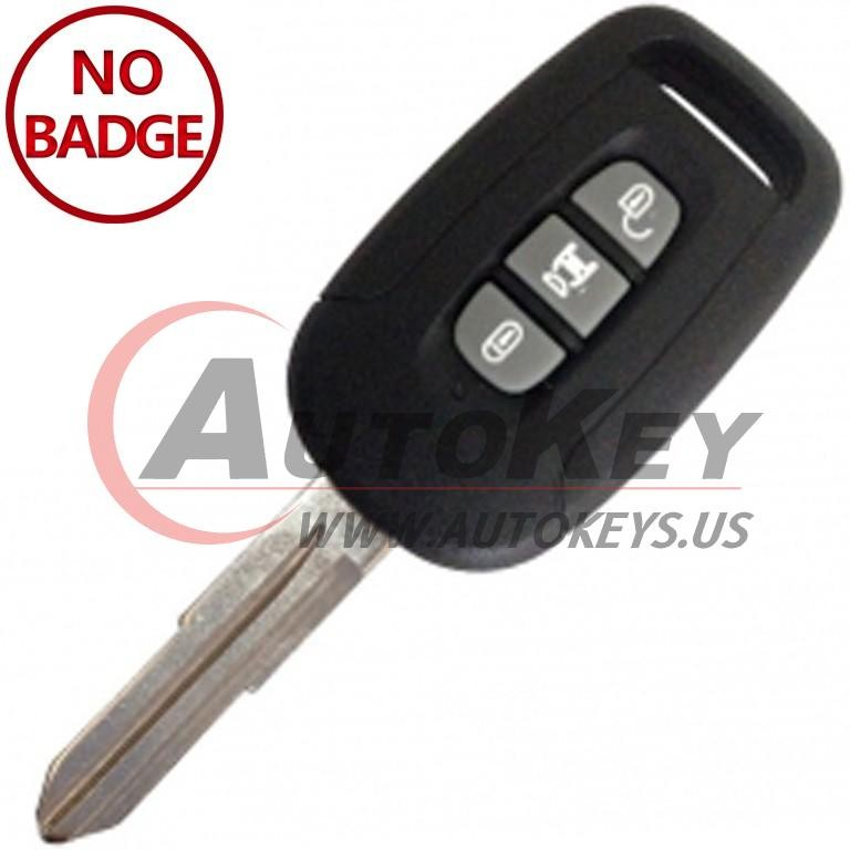 (434Mhz) Remote Key For Chevrolet Captiva