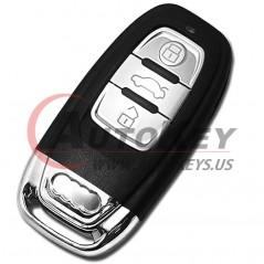 (868Mhz) 8E0837220Q/K/D Flip Remote Key For Audi A4 S4 RS4