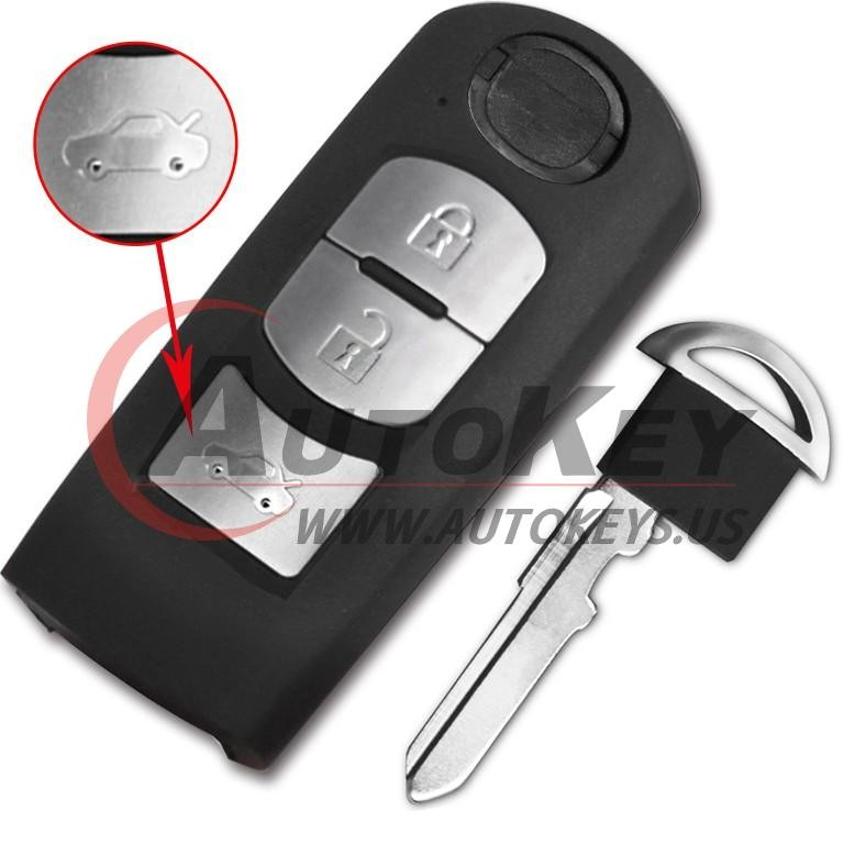 (433Mhz) SKE13E-01 Smart Key For Mazda (Mitsubishi System)