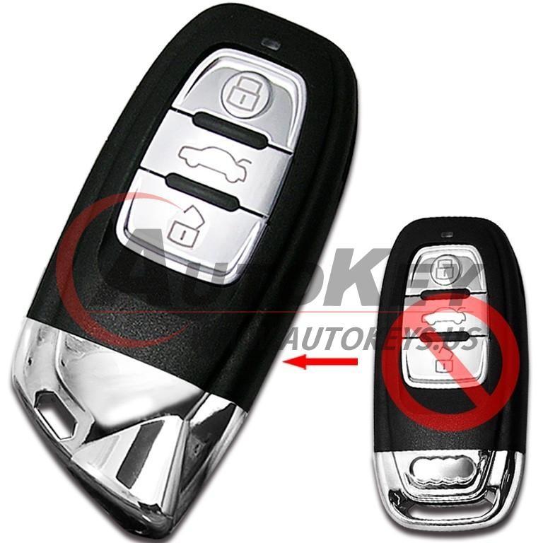 (433Mhz) Remote Key For Audi A4 A5 S4 S5 Q5 (Lamborghini Style)