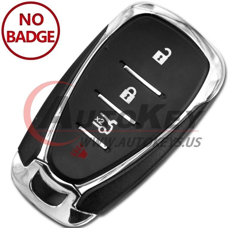 (433Mhz) HYQ4EA Smart Key For Chevrolet Camaro Cruze Malibu