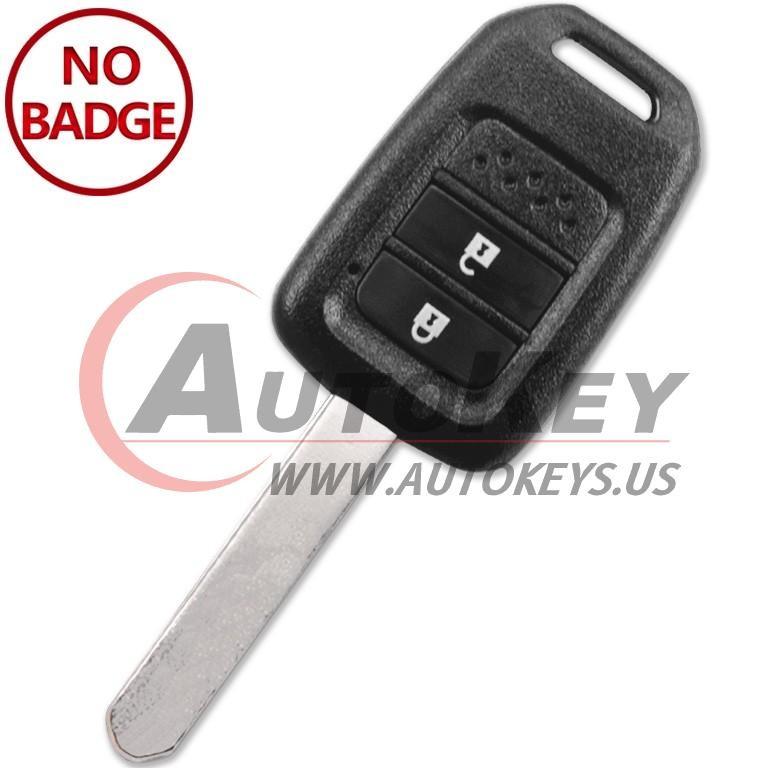 (433Mhz) Remote Key For Honda City BR-V Crider