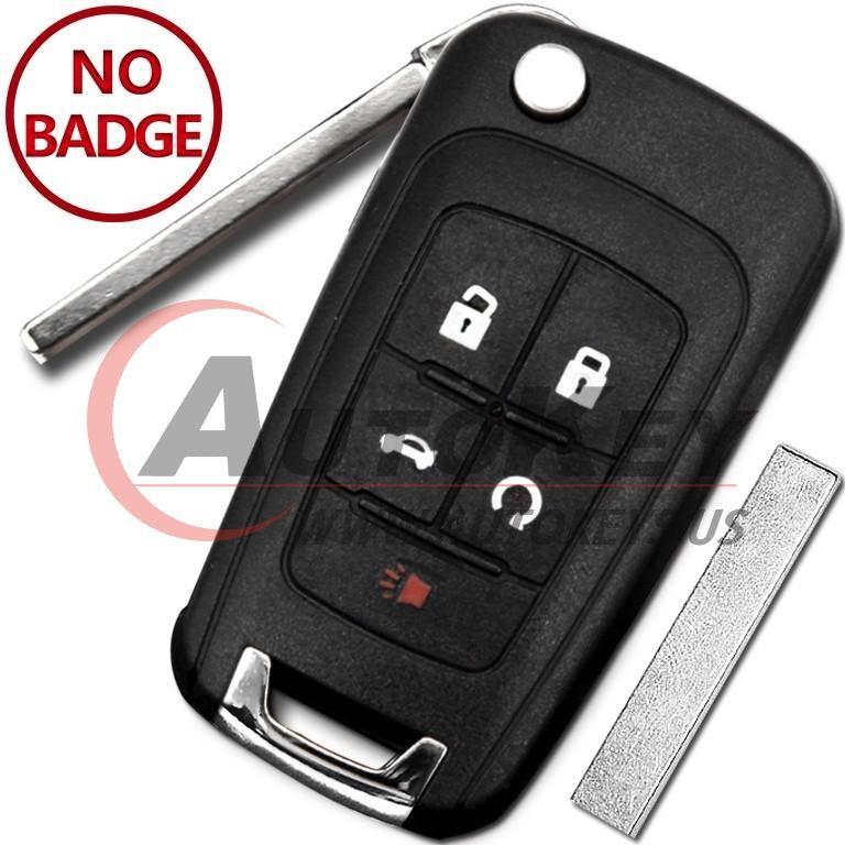 (315Mhz) OHT01060512 4+1btn Flip Key For Chevrolet