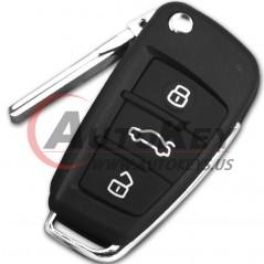 (433Mhz) 8P0837220D Flip Remote Key For Audi A3 TT S3