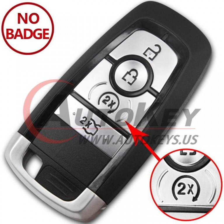 (434Mhz) Smart Key For Ford Mondeo Fusion Explorer