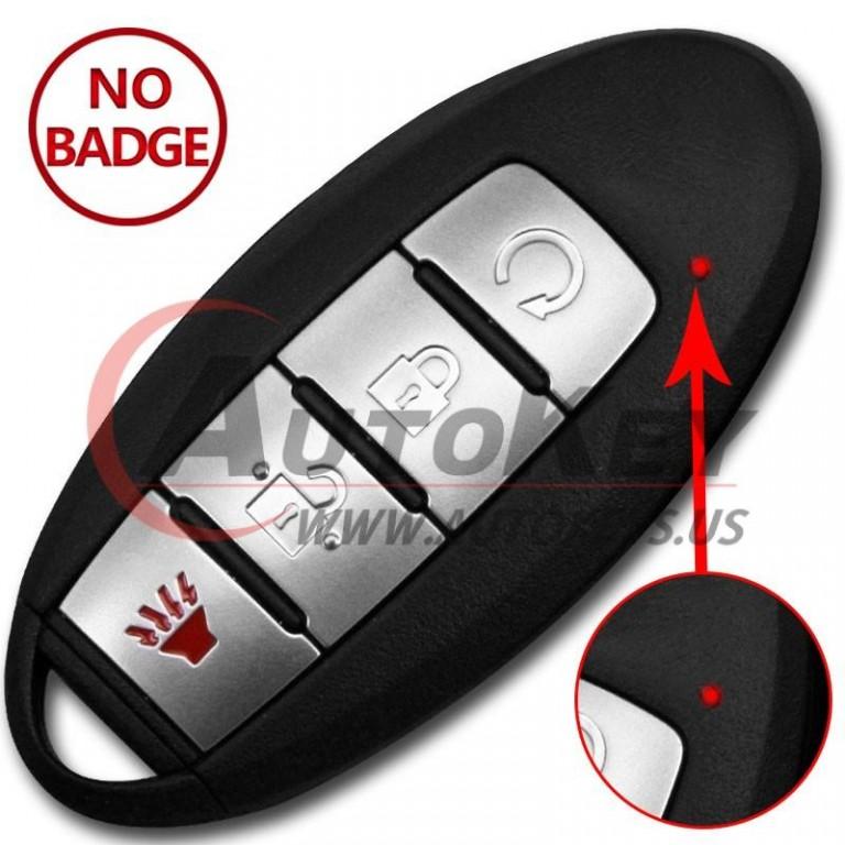 (433Mhz) S180144503 KR5TXN3 Smart Key For Nissan Kicks Rouge
