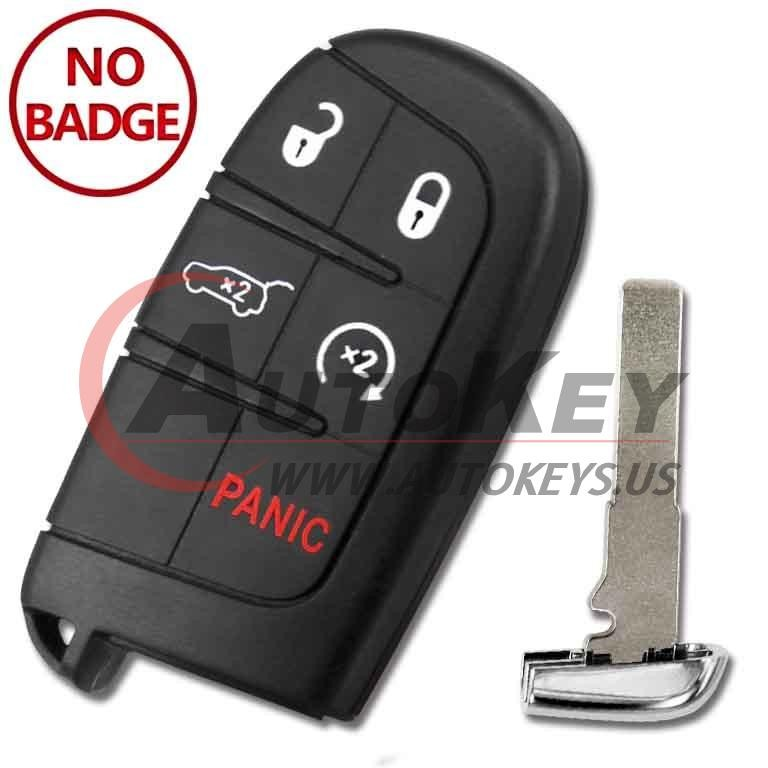 (433Mhz) M3N40821302 Smart Key For Jeep Compass C-CUV Trailhawk