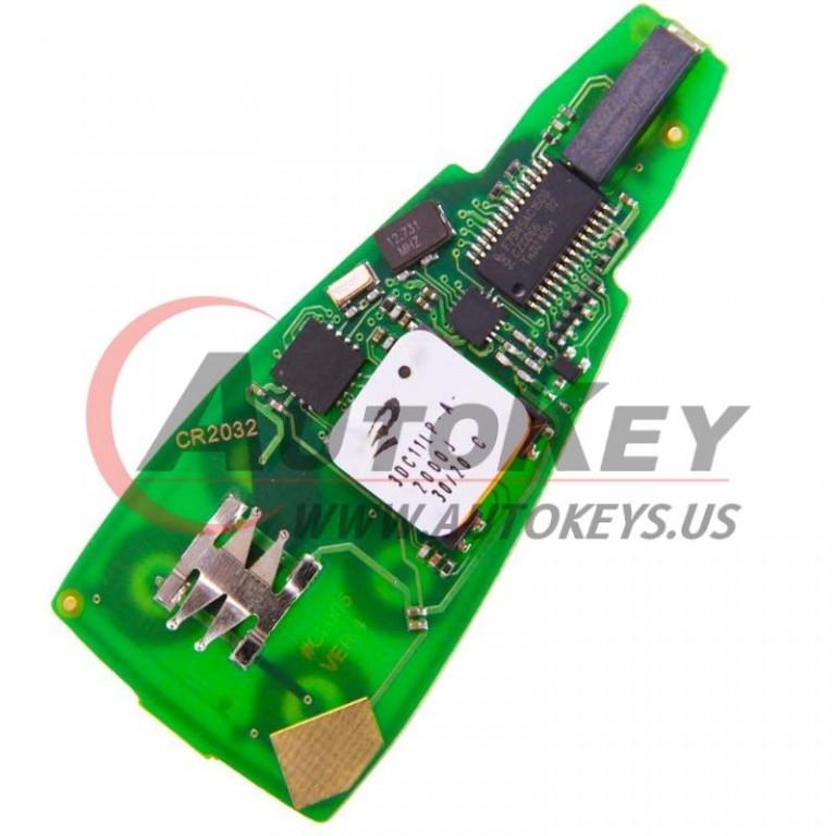 (433Mhz) IYZ-C01C Keyless Go Board of 6+1Btn Smart Key For Chrysler Jeep Dodge Fobik