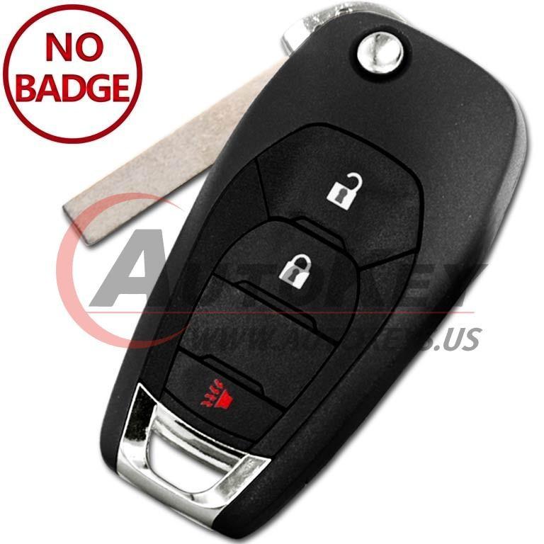 (315Mhz) LXP-T003 Flip Remote Key For Chevrolet Trax Spark