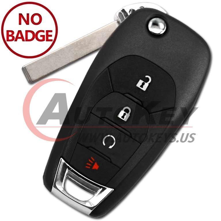 (433Mhz) LXP-T004 Flip Key For Chevrolet Cruze Trailblazer