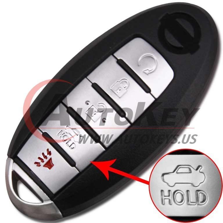 (433Mhz) S180144310 KR5S180144014 Smart Key For Nissan Altima Maxima