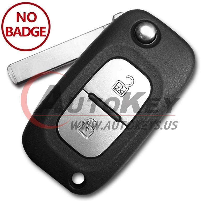 (434Mhz) Flip Remote Key For Renault Twingo Modus Kangoo