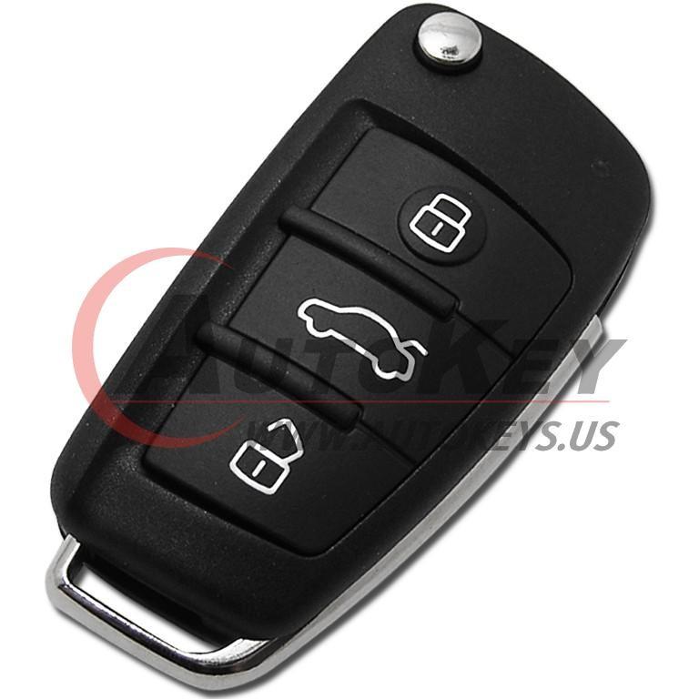 (433Mhz) 81A 837 220 Flip Remote Key For Audi Q2