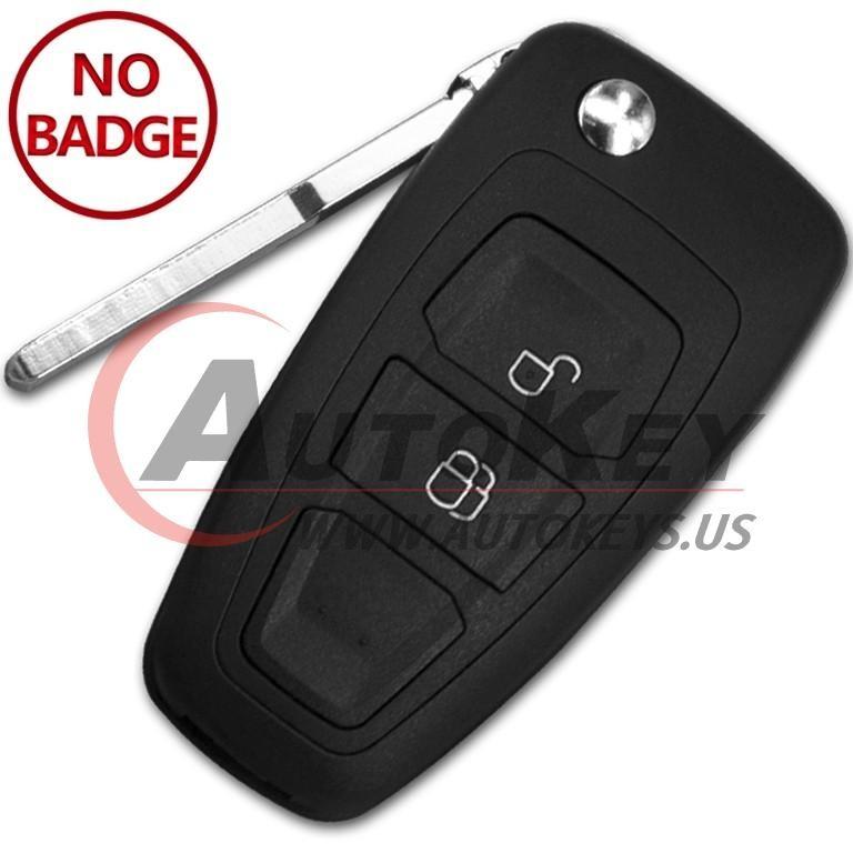 (433Mhz) 5WK50165 Flip Remote Key For Ford Ranger C-Max Focus/ Mazda BT-50